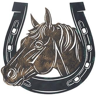 Tough-1 Metal Horse Head Horseshoe
