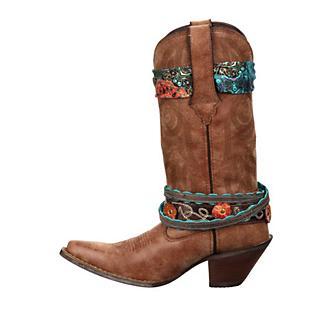 Crush Durango Ladies Accessorize Brn Boots