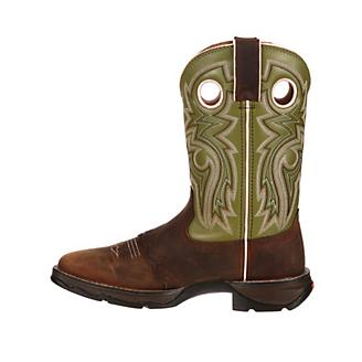 4ba89adc9b7 Lady Rebel Durango Meadow n Lace Sq Boots 6 - Statelinetack.com