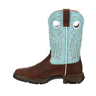 Lady Rebel Durango Powder n Lace Sq Boots