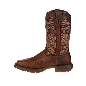Lady Rebel Durango Steel Toe Dk Brn Boots