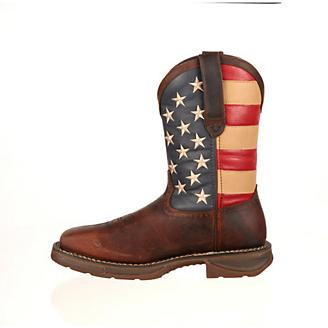 Rebel Durango Mens Steel Union Flag Boots