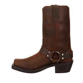 Durango Mens Square Toe Brown Harness Boots