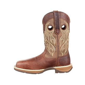 Rebel Durango Mens Comp Toe WP Tan Boots