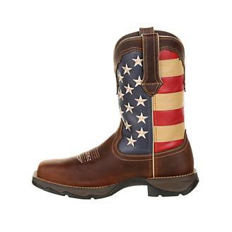 Lady Rebel Durango Steel Toe Flag Work Boots