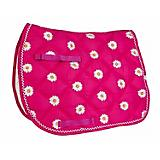 Lettia Embroidered Daisy All Purpose Saddle Pad