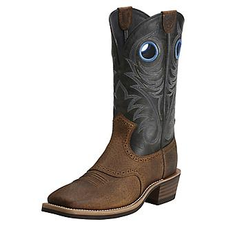 Ariat Mens Heritage Square Toe Earth Boots