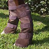 Kensington Fly Boots w/Webbing Trim Medium Natural