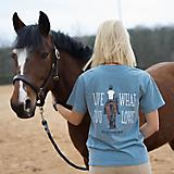 Stirrups Equestrian Prep Live What You Love Tee M