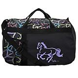 Galloping Horse Peace Sign Duffle Bag