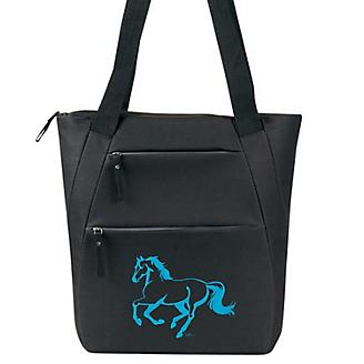 Linear Horse Tote Bag
