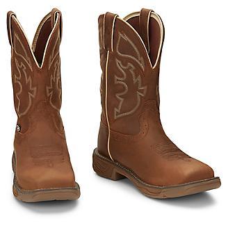 JOW Mens Rush Waterproof Sq Toe Work Boots