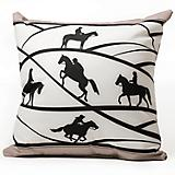 Trail Master Throw Pillow