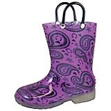 Smoky Mountain Toddler Lightning Rubber Boots