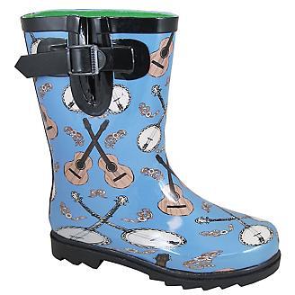 Smoky Mountain Toddler Banjo Rubber Boots