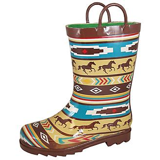 Smoky Mountain Childrens Riverbend Rubber Boots