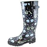 Smoky Mountain Ladies Banjo Navy Rubber Boots