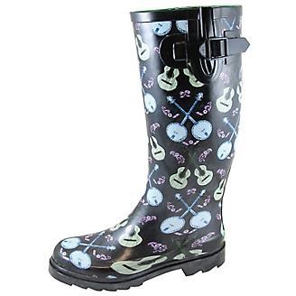 Smoky Mountain Ladies Banjo Navy Rubber Boots
