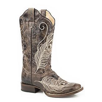 Roper Ladies Feather FleXtra Square Toe Boots