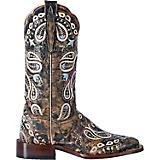 Dan Post Ladies Anna Square Toe Choc Boots