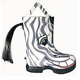 HOOFiTZ Kids Zebra Horse Rain Boots
