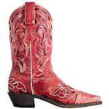 Laredo Ladies No More Drama Snip Toe Red Boots 9