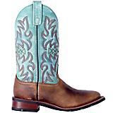 Laredo Ladies Anita Square Toe Turquoise Boots