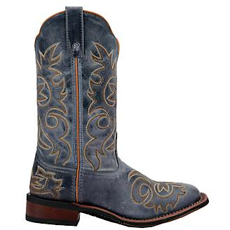 Laredo Ladies Ella Square Toe Blue Boots