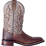 Laredo Mens Heath Sq Toe Dk Brn/Gray Boots