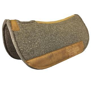 Colorado Saddlery Pressed Wool Round Contour Pad