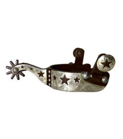 Colorado Saddlery Youth w/stars Spurs