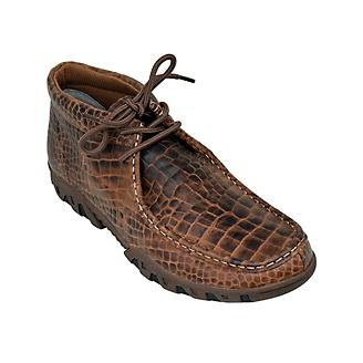 Ferrini Mens Print Belly Rogue Brown Shoes