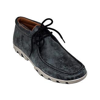 Ferrini Mens Rogue Smokey Black Shoes