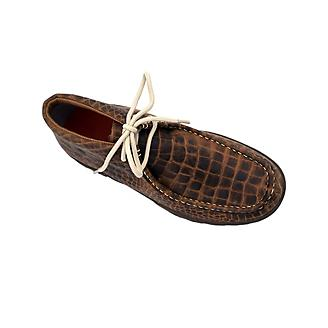 Ferrini Ladies Print Belly Rogue Brown Shoes