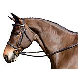 FLEX RIDER Fancy Stitch Raised Snaffle Bridle