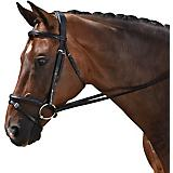 M Toulouse Classic Black Dressage Bridle