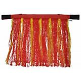 Gatsby Poly Fly Fringes Red/Yellow