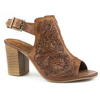Roper Ladies Mika Tan Shoes