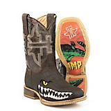Tin Haul Big Kids Swamp Chomp Square Toe Boots