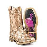 Tin Haul Big Kids Mish and Mash Square Toe Boots