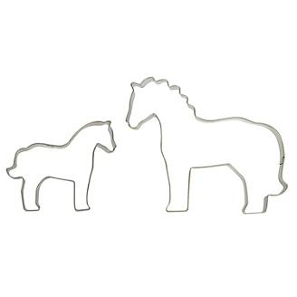 Mare and Foal Cookie Cutter Set