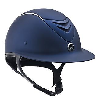 One-K Defender AVANCE Wide Brim Chrome Helmet