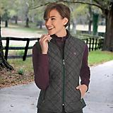 ROMFH Ladies Hampton Quilted Vest
