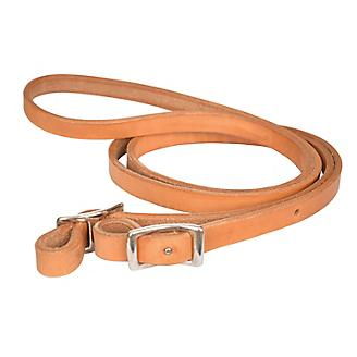 Reinsman 5/8in x 6ft Pony Harness Leather Reins