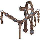 Tough1 Serenity Mini Headstall/Breast Collar Set