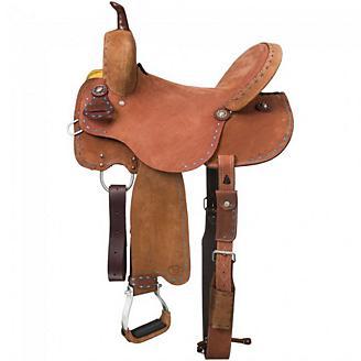 Royal King Medina Buckstitch Barrel Saddle