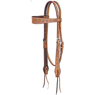 Royal King Medina Buckstitch Browband Headstall