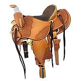 CO Saddlery Black Hills w/Bull Hide Seat Saddle