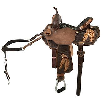 CO Saddlery Eagle Wing Pro Barrel Saddle