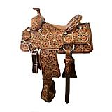 CO Saddlery WYO Deluxe Team Roper Saddle